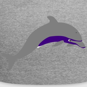 Dolphin paars - Jersey-Beanie