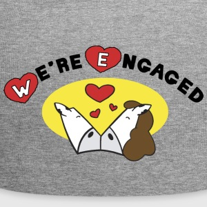 We're Engaged - Jersey Beanie