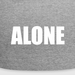 Alone Text - Jersey Beanie