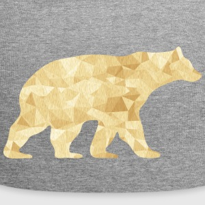 Abstract Bear - Jersey Beanie