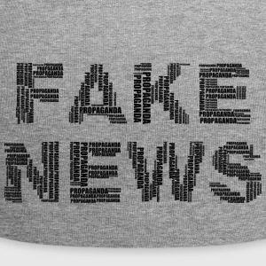 fake news abstract - Jersey Beanie