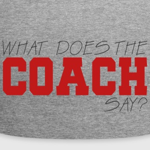 Coach / Coach: What Does The Coach Say? - Jersey Beanie