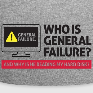 Who Is General Failure? Are You In The Military? - Jersey Beanie