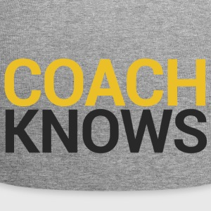 Coach / bil: Buss Knows - Jersey-beanie