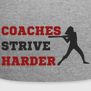 Coach / Trainer: Coaches Strive Harder - Jersey-Beanie