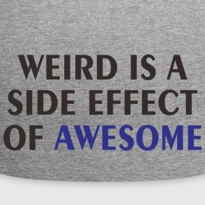 WEIRD IS A EFFECT - Jersey Beanie