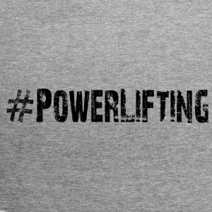powerlifting - Beanie in jersey
