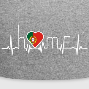 i love home home PORTUGAL portugese - Jersey Beanie
