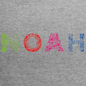 Noah Letter Name - Jersey-beanie