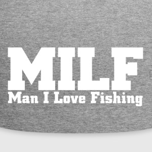 MILF man I love fishing - Jersey Beanie