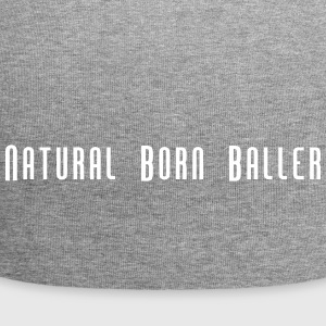 Natural Born Baller slogan - Jersey Beanie