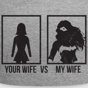 Comparison: Your Wife vs. My Wife - Jersey Beanie
