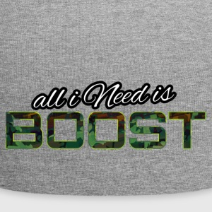 All i Need is boost - Jersey-Beanie