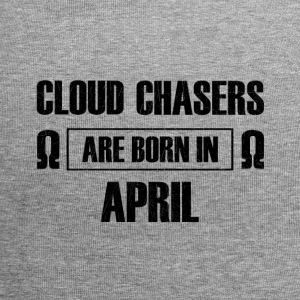 Cloud chasers are born in april - Jersey Beanie