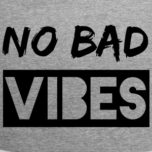 no bad vibes - Jersey Beanie