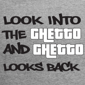 Look into the Ghetto and Ghetto looks back! - Jersey Beanie