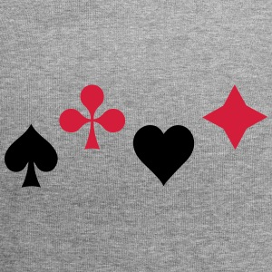 Ace coeur Poker Blackjack Cartes Casino icône - Bonnet en jersey