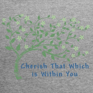 Yoga Cherish That Which Is Within You - Jersey Beanie
