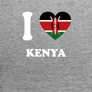 i love home gift country KENYA - Jersey Beanie
