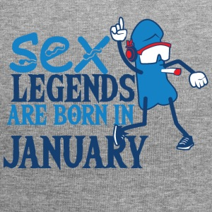Geboren januari penis Sex Legends - Jersey-Beanie