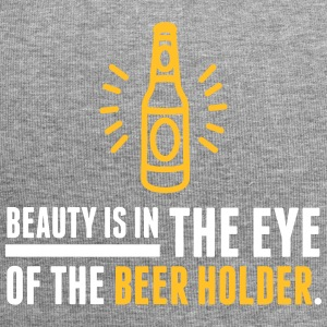 Beauty Is In The Eye Of The Beer Holder! - Jersey Beanie