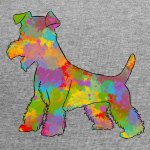 Welsh Terrier Multicolored - Jersey Beanie