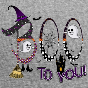 Halloween Boo To You - Jersey Beanie