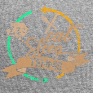 Eat Sleep Tennis Gentag - Jersey-Beanie