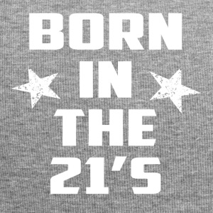 Born in the 21 s star white - Jersey Beanie