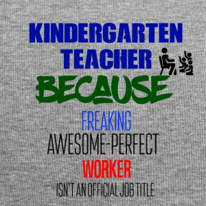 Kindergarten Teacher - Jersey-Beanie