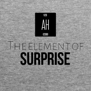 The element of surprise - Jersey-Beanie