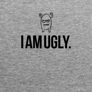 I am ugly just so you know - Jersey Beanie