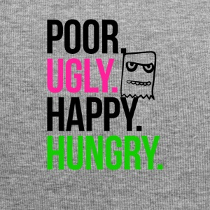 Poor Ugly Happy Hungry - Jersey Beanie