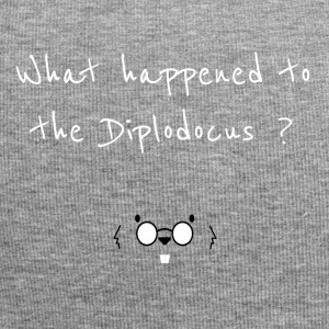 What happened to the Diplodocus ? - Bonnet en jersey