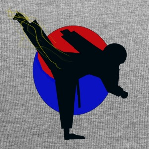 disegno Taekwondo fighter - Beanie in jersey