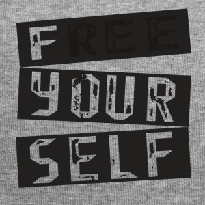 Free yourself spruch gift funny sport - Jersey Beanie
