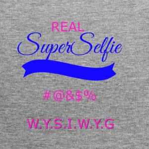 superselfietransparant - Jersey-Beanie