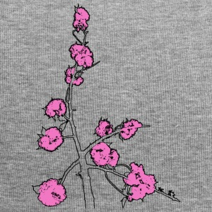 Pink Blossom Branch - Jersey Beanie