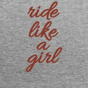 RIDE LIKE A GIRL - Jersey Beanie
