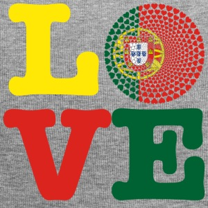 PORTUGAL HEART - Jersey Beanie