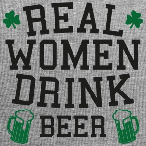 Irland / St. Patrick´s Day: Real Women Drink Beer - Jersey-Beanie