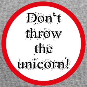 Don't throw the unicorn! - Jersey-Beanie