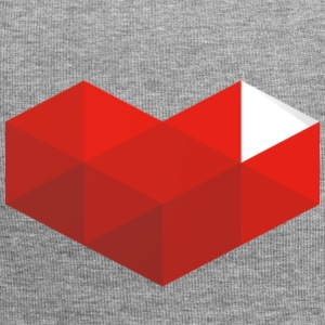 coeur youtube - Bonnet en jersey