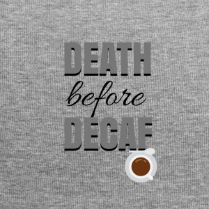 Death before Decaf - Jersey Beanie