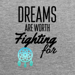 Dreams are worth fighting for - Jersey Beanie