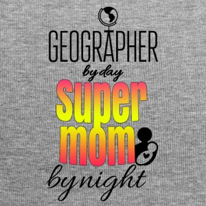 Geographer by day and super mom by night - Jersey Beanie