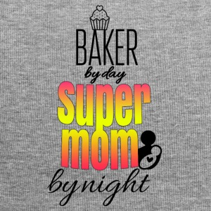 Baker by day super mom by night - Jersey Beanie