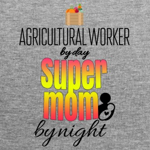 Agricultural worker by day and super mom by night - Jersey Beanie