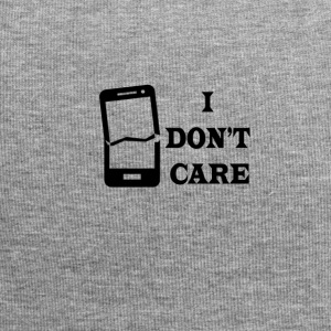 I don't care - Jersey Beanie