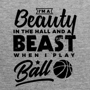 Basketball I'ma Beauty in the Hall and a Beast ... - Jersey Beanie
